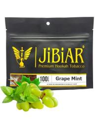 Табак Jibiar Grape Mint (Виноград Мята) 100 гр